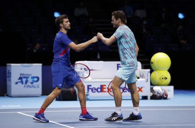 Koolhof and Mektic win the Nitto ATP Finals doubles title