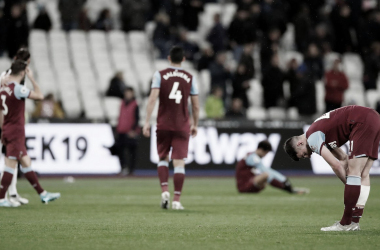 El West Ham, en caída libre