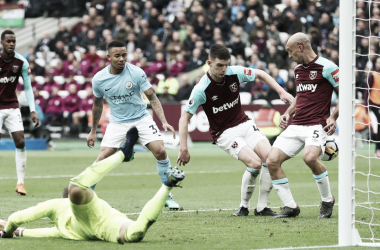 Resumen West Ham 0-4 Manchester City en Premier League 2018