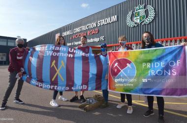 West Ham 0-1 Reading: Lauren Bruton's goal secures victory at Dagenham.
