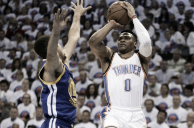 There was no stopping or slowing of Russell Westbrook in Game 4 (Photo: Mark D. Smith, USA Today Sports)