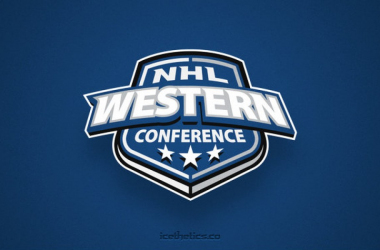 NHL Western Conference 2018 off-season evaluations. (Logo: icethetics.com)