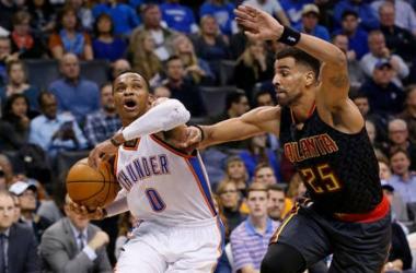 NBA - Atlanta batte Westbrook, Indiana in volata su Washington