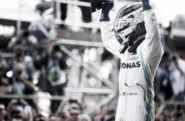 Bottas festeja la victoria | Foto: Motorsport