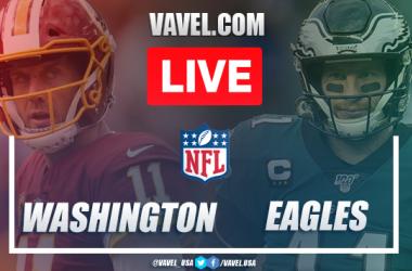 Touchdown and Highlights: Washington Football Team 20-14 Philadelphia Eagles in NFL Week 17