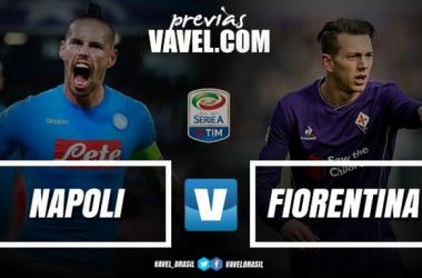 Napoli e Fiorentina se enfrentam por vaga na semifinal da Copa Itália