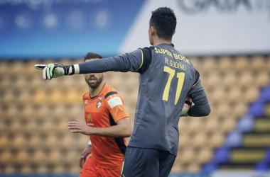 Raúl Gudiño con Porto B l foto: Porto