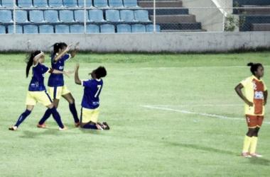 Jogo foi dominado pelo time piauiense (Foto: ALLSPORTS)