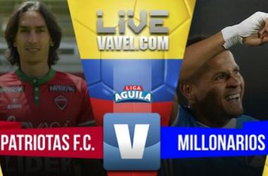 Millonarios ganó de visitante ante Patriotas (1-2)
