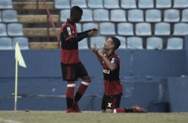 Flamengo x Oeste pela Copa São Paulo de Futebol Júnior (2-0)