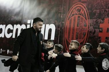 """Gattuso: """"Estamos felices trasel 0-0"""""""