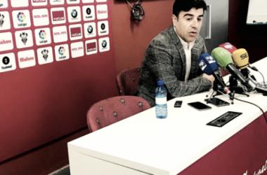"""Nico Rodríguez: """"Tenemos 22 futbolistas a día de hoy y tres fichas libres"""""""