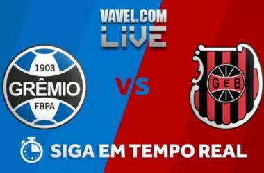Resultado Grêmio x Brasil de Pelotas agora (4-0)