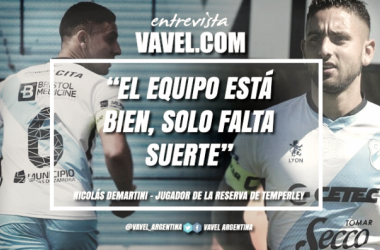 Nicolás Demartini en exclusiva con VAVEL. Foto | VAVEL