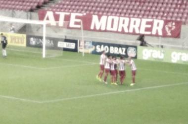 Com direito a gol e assistência de Ortigoza, Náutico vence Afogados na Arena de Pernambuco