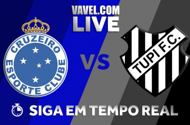 Resultado Cruzeiro x Tupi pelasemifinal do Campeonato Mineiro (2-1)