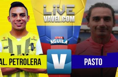Alianza Petrolera vs Deportivo Pasto en vivo y en directo online por la Liga Águila 2018-1 (0-2)