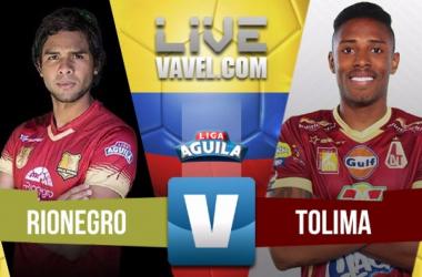 Importante victoria como visitante de Deportes Tolima ante Rionegro Águilas (1 - 3)