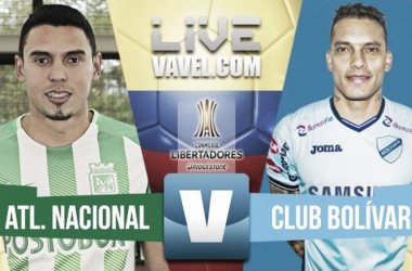 Atlético Nacional goleó y se acercó a la siguiente ronda de la Libertadores
