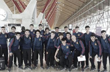 Inglaterra ya acoge a la Selección Española Sub-17 (sefutbol.com)