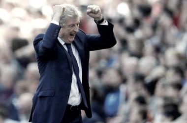 Hodgson celebra un tanto del Crystal Palace. | Imagen: Crystal Palace