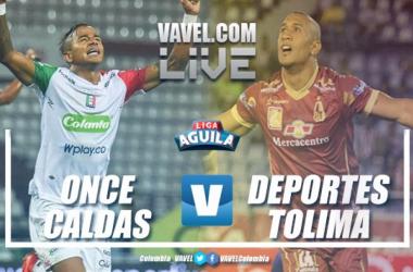 Minuto a minuto Once Caldas vs. Deportes Tolima
