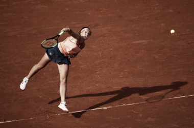 Jelena Ostapenko pierde las oportunidades de revalidar el título (zimbio.com)