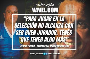 Hectór Enrique en exclusiva con VAVEL. Foto: VAVEL