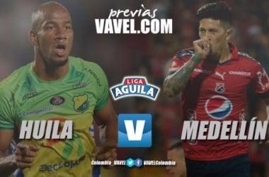 Atlético Huila Vs. DIM: El 'Poderoso' buscará mejorar su actuación luego de la pretemporada | Fotomontaje: VAVEL Colombia