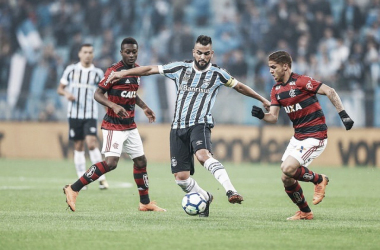 Grêmio sai na frente, mas Flamengo empata com gol de Lincoln pela Copa do Brasil