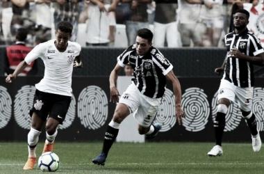 Com rendimento igual no segundo turno, Ceará recebe o Corinthians em Fortaleza