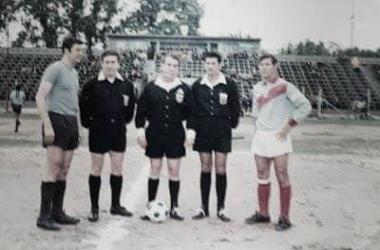 Encuentro entre ambos equipos. Estadio Alfredo Beranger. Año 1968. Foto: Historia Temperley
