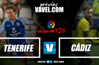 CD Tenerife - Cádiz CF | Montaje: VAVEL.com