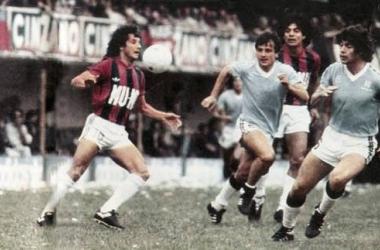 Partido disputado en el año 1982 entre ambos equipos. Fue jugado en La Bombonera. Foto: HistoriaTemperley.blogspot