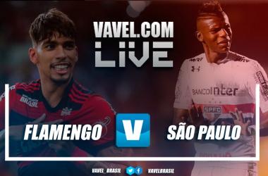Resultado e gols São Paulo 2x2 Flamengo pelo Campeonato Brasileiro 2018