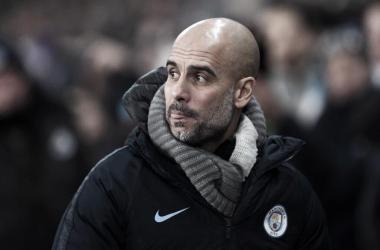 """Guardiola exalta Gabriel Jesus após quatro gols contra Burton: """"Bom para ele e o time"""""""