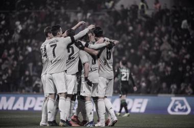 Em noite de Cristiano Ronaldo, Juventus vence Sassuolo e dispara na liderança