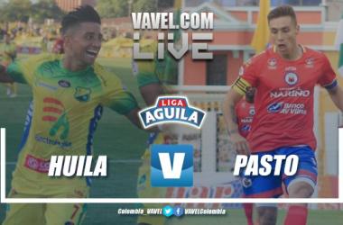 Atlético Huila vs Deportivo Pasto en vivo y en directo online por la Liga Águila 2019 (2-0)
