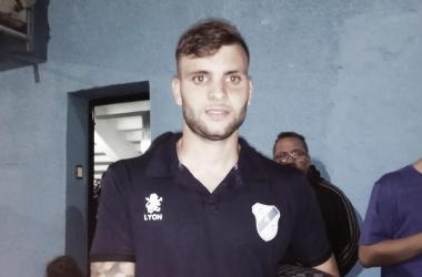 Federico Mazur, posa para la foto de la página. Foto: Temperley VAVEL