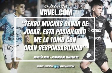 Agustín Sosa asumirá un nuevo compromiso con la camiseta de Temperley este domingo. Foto: VAVEL