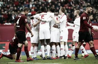 RB Leipzig agora chega à terceira colocação (Foto: Divulgação / RB Leipzig)