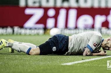 Schalke corre sérios riscos de disputar a repescagem de rebaixamento (Foto: Bundesliga)