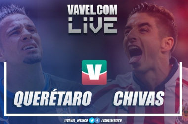 Resumen Querétaro 0-0 Chivas en Liga M X 2019