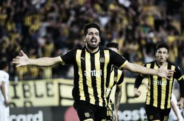 Peñarol goleia San José, vence a primeira e fica em segundo no grupo do Fla na Libertadores