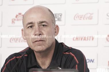 Luis Manuel Díaz mantiene la calma a pesar del mal momento