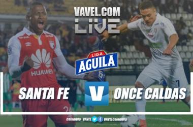 Resumen Independiente Santa Fe vs Once Caldas por la Liga Aguila 2019 (0-2)