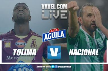 Resumen Deportes Tolima vs Atlético Nacional por la Liga Aguila (2-1)
