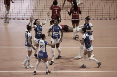 Atletas do Itambé/Minas exaltam força da equipe em vitória sobre Osasco/Audax