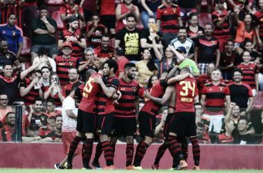 As duas marcas serão estampadas nas mangas e ombro da camisa rubro-negra. (FOTO: Divulgação/Sport)