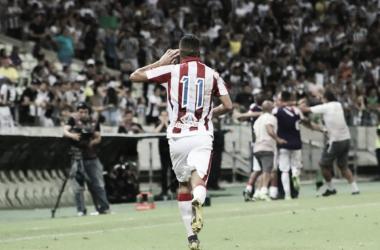 O Timbu chega na semifinal pela primeira vez da Copa do Nordeste, desde a sua volta. (FOTO: Divulgação/Náutico)
